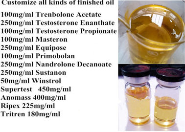 China Testosterone Enanthate 250 Test Enanthate 250 mg/ml Homebrew  Injectable Oil Free Sample supplier