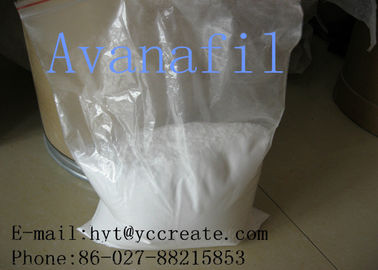 China CAS 330784-47-9 Testosterone Steroid Hormore Powder Avanafil For Phosphodiesterase supplier