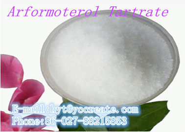 China Pharmaceutical Raw Materials Respiratory System Durgs Arformoterol Tartrate CAS: 200815-49-2 supplier