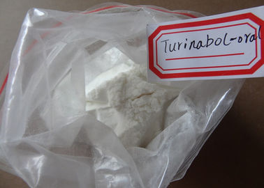 China 2446-23-3 Boldenone Steroid Oral Turinabol / 4-Chlorodehydromethyltestosterone supplier