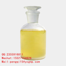 China Yellow Liquid Injectable Anti Estrogen Drugs Bodybuilding Cas 120511-73-1 supplier
