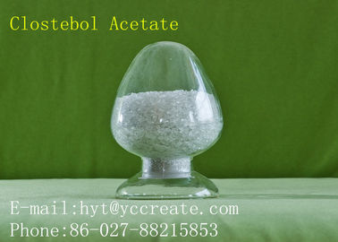 China Anti-Aging Raw Pharma Steroids , Raw Steroids Powder CAS 855-19-6 Clostebol Acetate factory