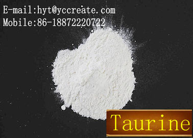 China High Quality Chemical Food Additive Taurine on Stock CAS NO. 107-35-7 factory